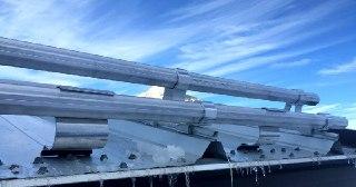 Монтаж снегозадержателей Тула цена от 835 руб.
